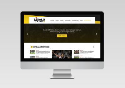 Galo News - Atlético Mineiro | Inovalize - Desenvolvimento de sites
