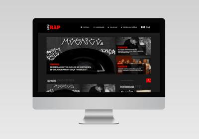 DNA Rap - Inovalize   Desenvolvimento de Site