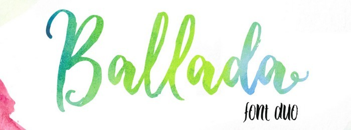 Ballada - 5 fontes de qualidade para uso comercial