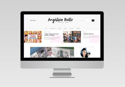 Angélica Bello - Desenvolvimento de Blog   Inovalize