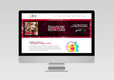 Live Conventions   Desenvolvimento de site de Eventos - Inovalize