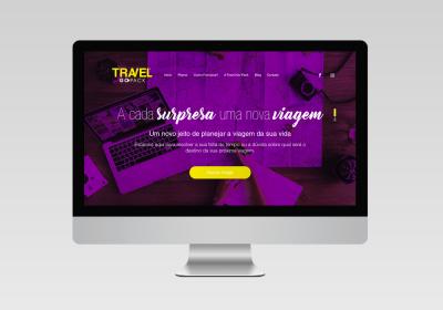 Travel Go Pack - Desenvolvimento de Site - Inovalize