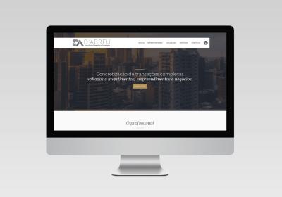 D'Abreu - Consultoria no ramo imobiliário   Inovalize - Criação de site