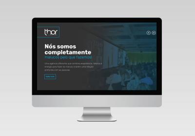 Thor Comunicação e Eventos   Desenvolvimento do site - Inovalize