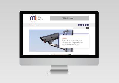 Mídia Interior | Criação de portal de notícias - Inovalize