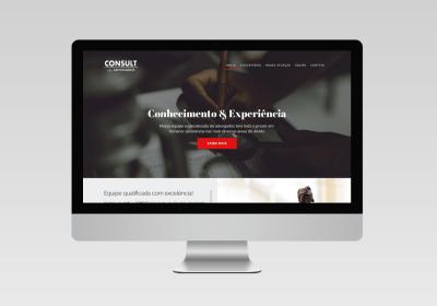 Consult Advogados | Inovalize - Criação de Site