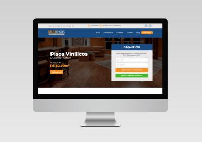 Multipisos - Criação de site institucional | Inovalize