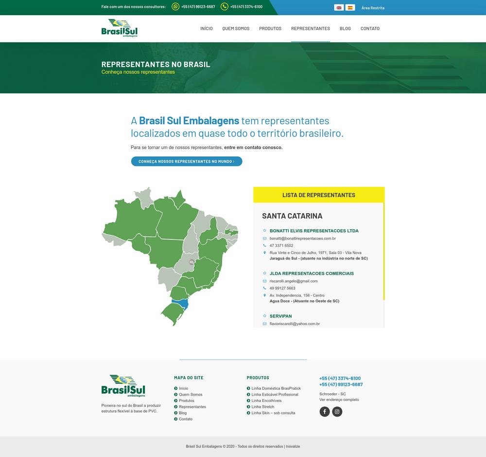 Inovalize - Brasil Sul Embalagens